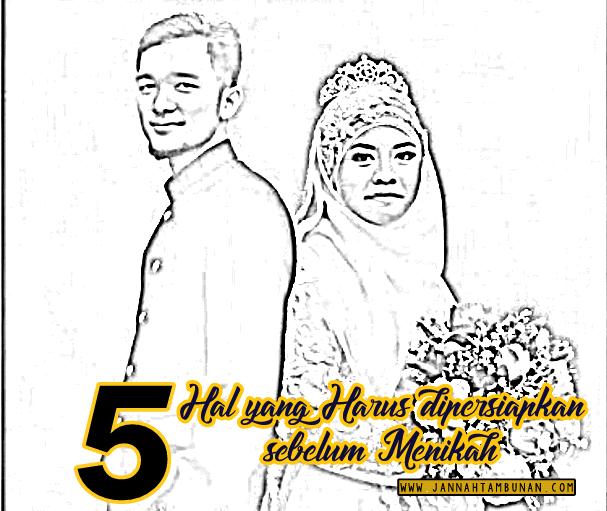 5 Hal yang Harus dipersiapkan sebelum Menikah