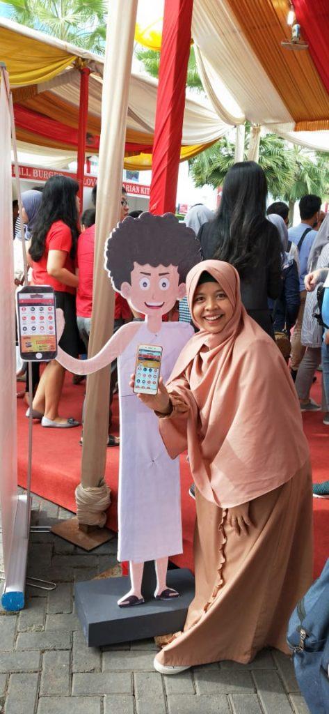 foto bersama Kribi, Icon Sobatku